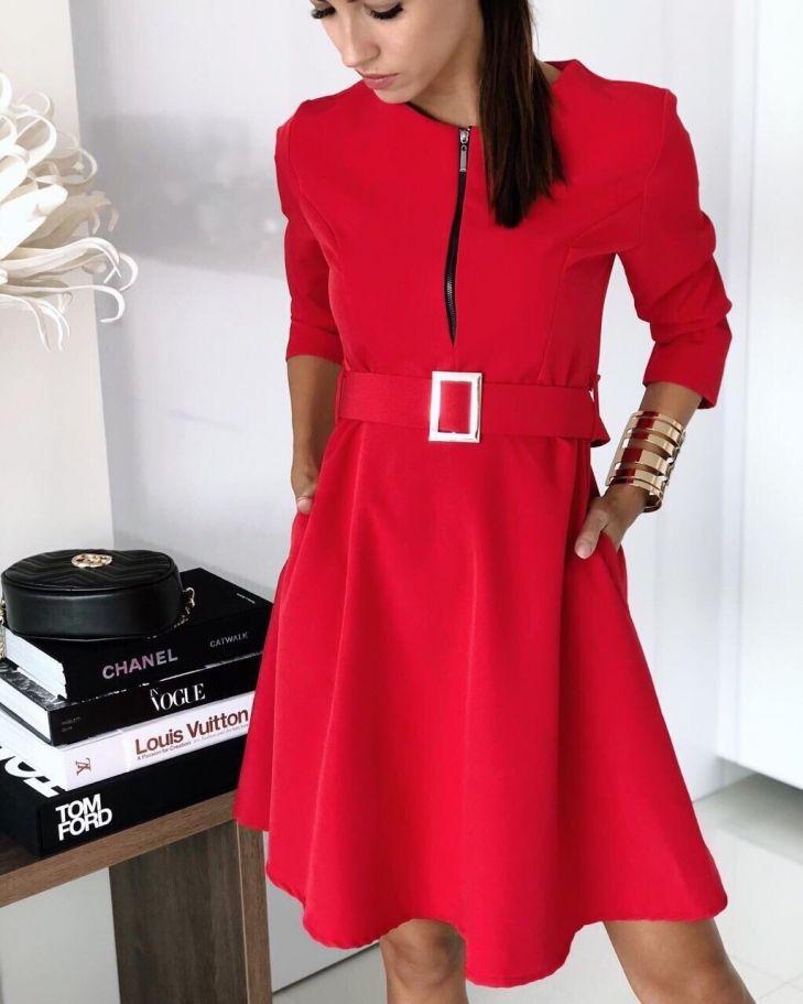 03409ec9cd1 Онлайн магазин за дамски рокли и блузи на СУПЕР цени Pink Red ...